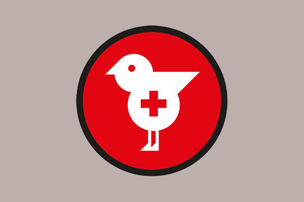 Signaletik für die Vogelpflege
