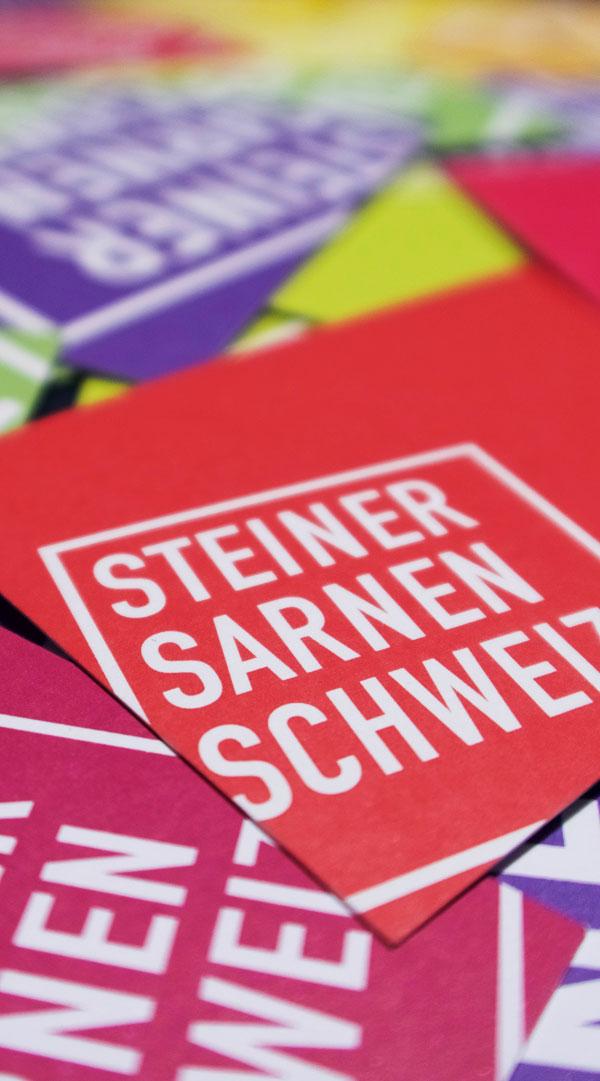 Corporate Design für Steiner Sarnen Schweiz