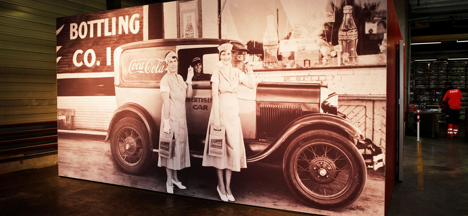 Grafikdesign für Getränkeautomaten