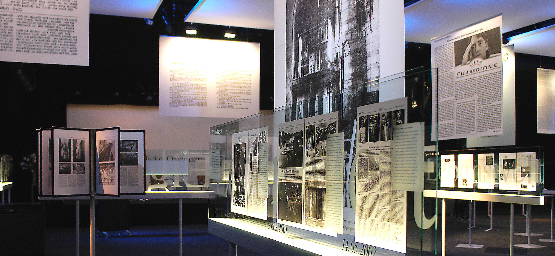 Grafikdesign für NZZ-Ausstellung