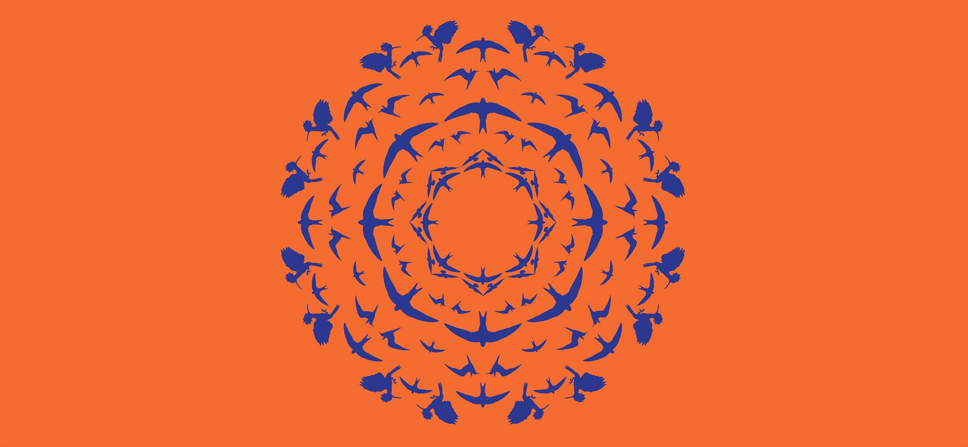 Textildesign für Vogelwarte Sempach