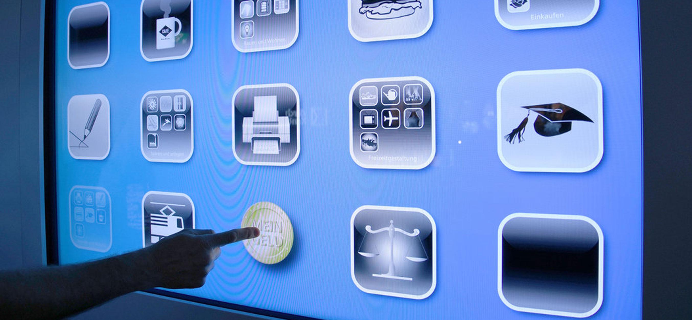 Appdesign für Ausstellung