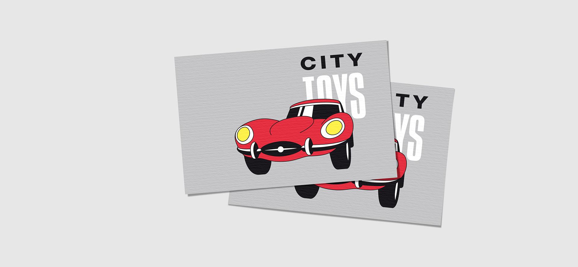 Logodesign City Toys