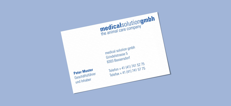 Grafikdesign für Medical Solution