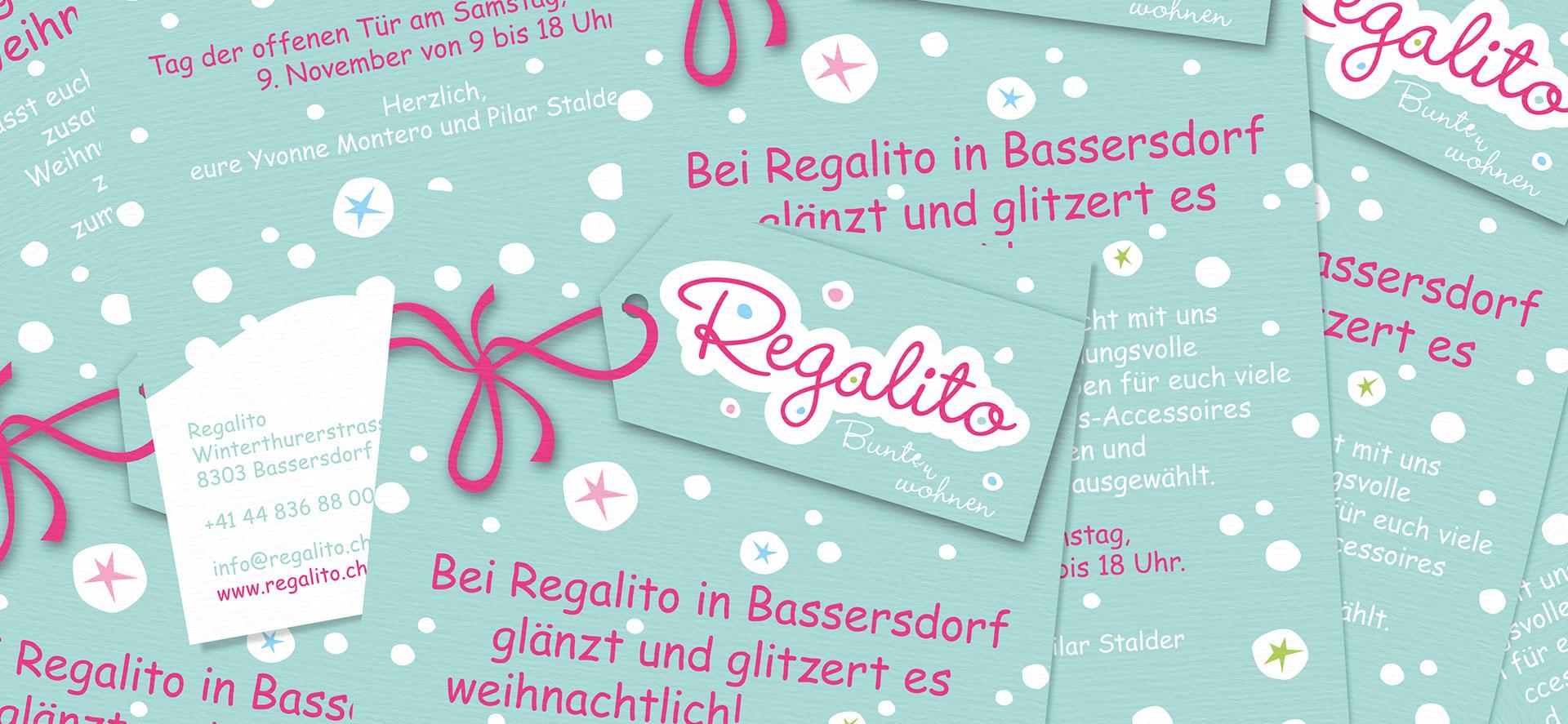 Logodesign für Regalito