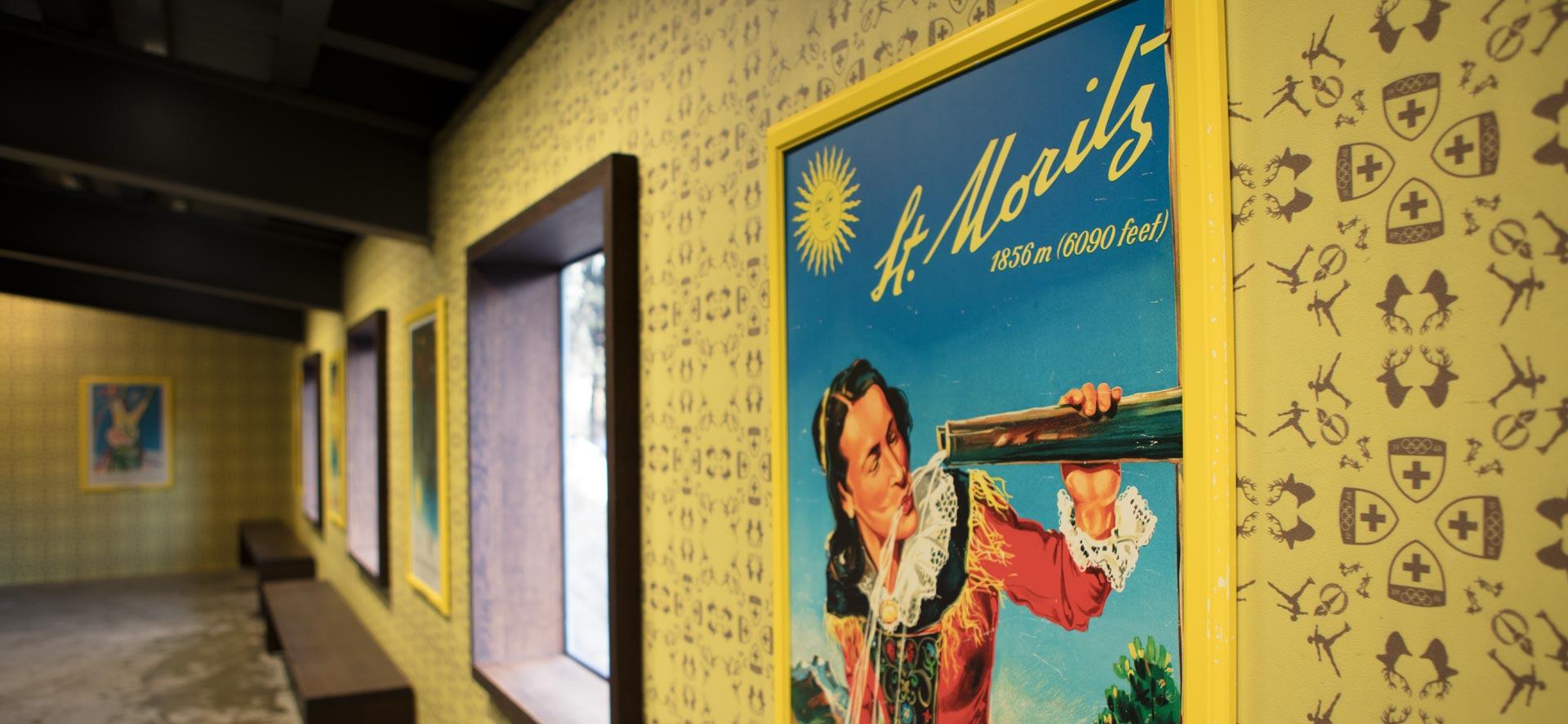 Tapetendesign für St.Moritz