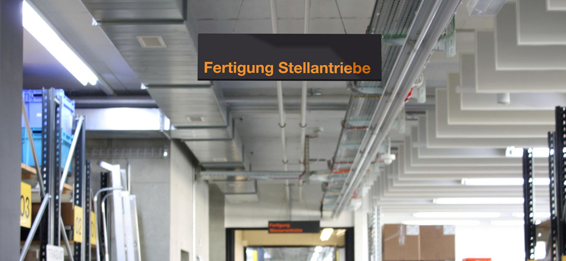 Signaletik für Belimo Automations AG
