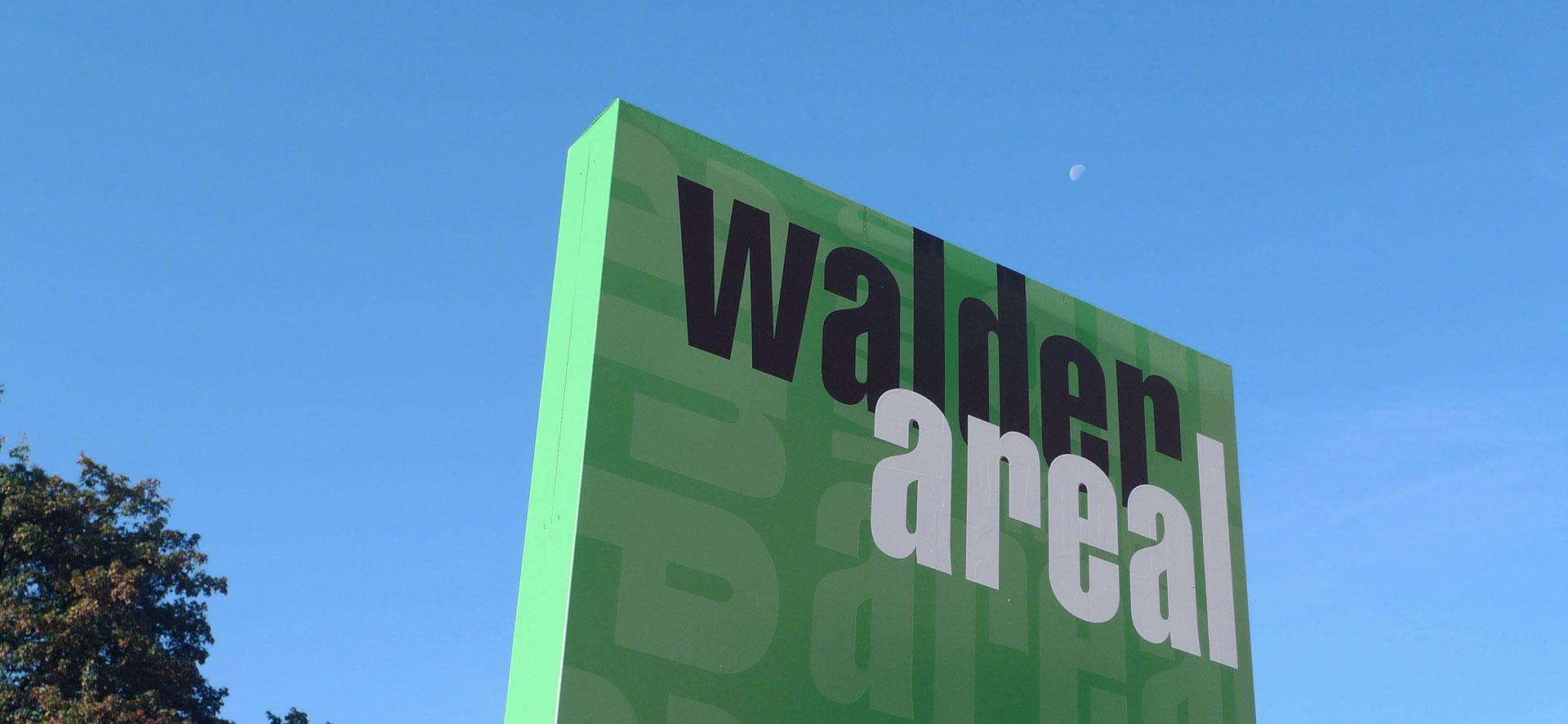 Signaletik Walder Areal